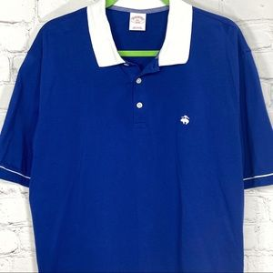 Brooks Brothers men's short sleeve polo shirt XXL